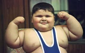 As you can see, my love for the gym started at an early age...