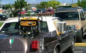 The first car I had with Air Conditioning