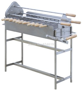 Is this a barbecue or a foosball table?