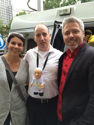 I'll give you a shocker, we met Gregg Mocker!!!