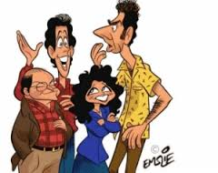 seinfeld cartoon