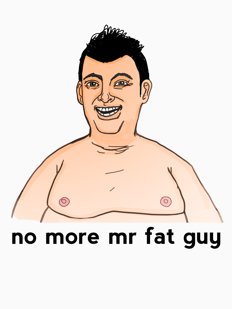 no more mr fat guy