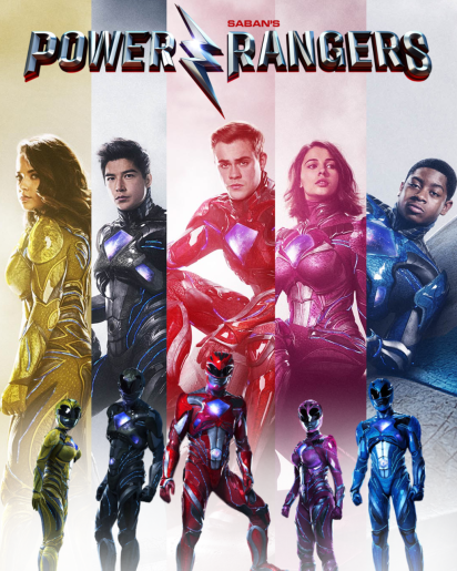 power rangers poster 3