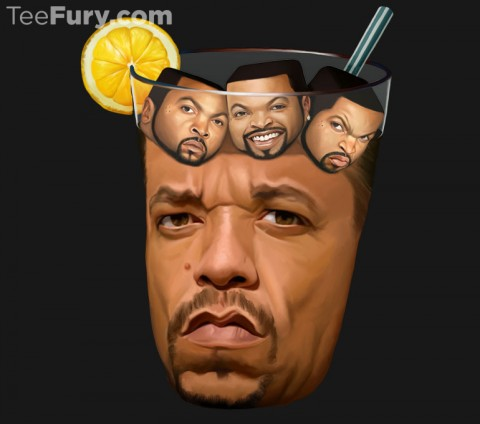 ice tea and cube