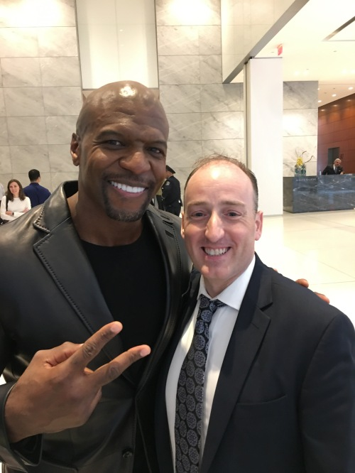 CelebriTuesdays: Big News – I Met Terry Crews!