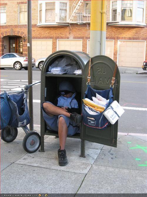 inside mailbox